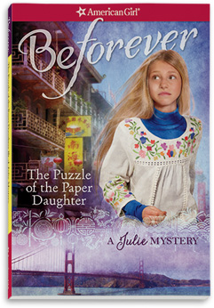 The Puzzle of the Paper Daughter: A Julie Mystery (Revised)