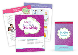 Truly Me Let's Talk Friendship Packaged Event Kit