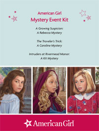 Mystery Printable Activities: Kit, Caroline, Rebecca