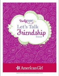 Truly Me Let's Talk Friendship Printable Activities