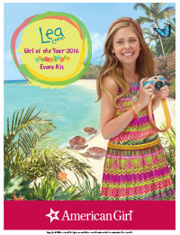 New! Lea Clark, Girl of the Year 2016, Printable Activities