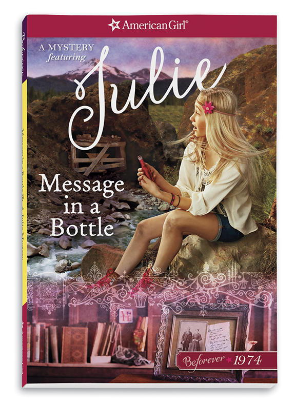 New! Message in a Bottle: A Julie Mystery