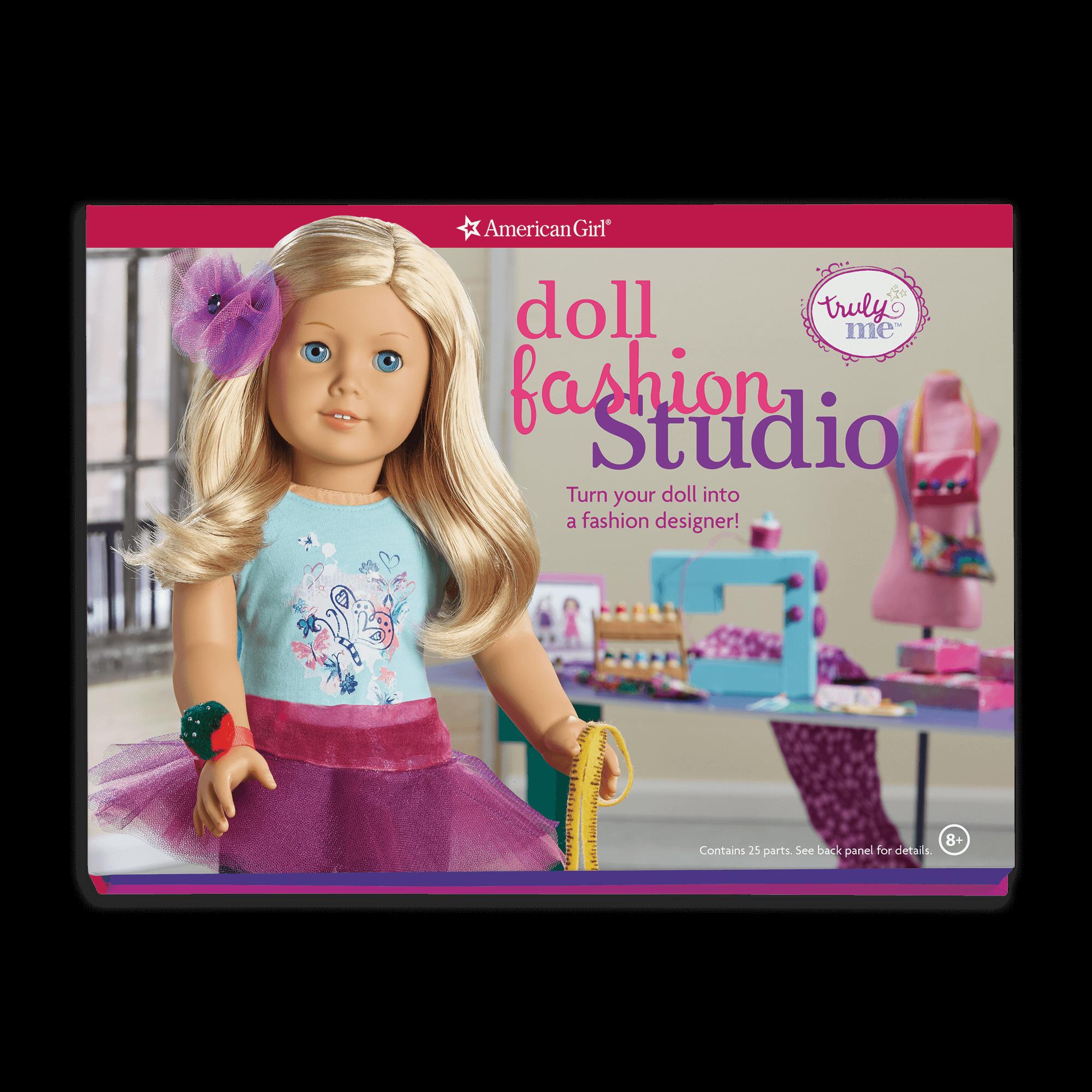 Doll Fashion Studio: Turn Your Doll into a Fashion Designer