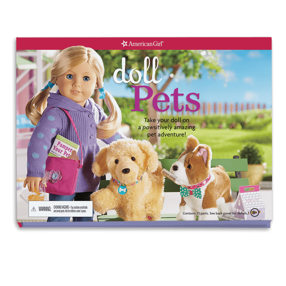 Doll Pets: Teach Your Doll How to Pamper Her Pets Using the Supplies and Idea Inside!