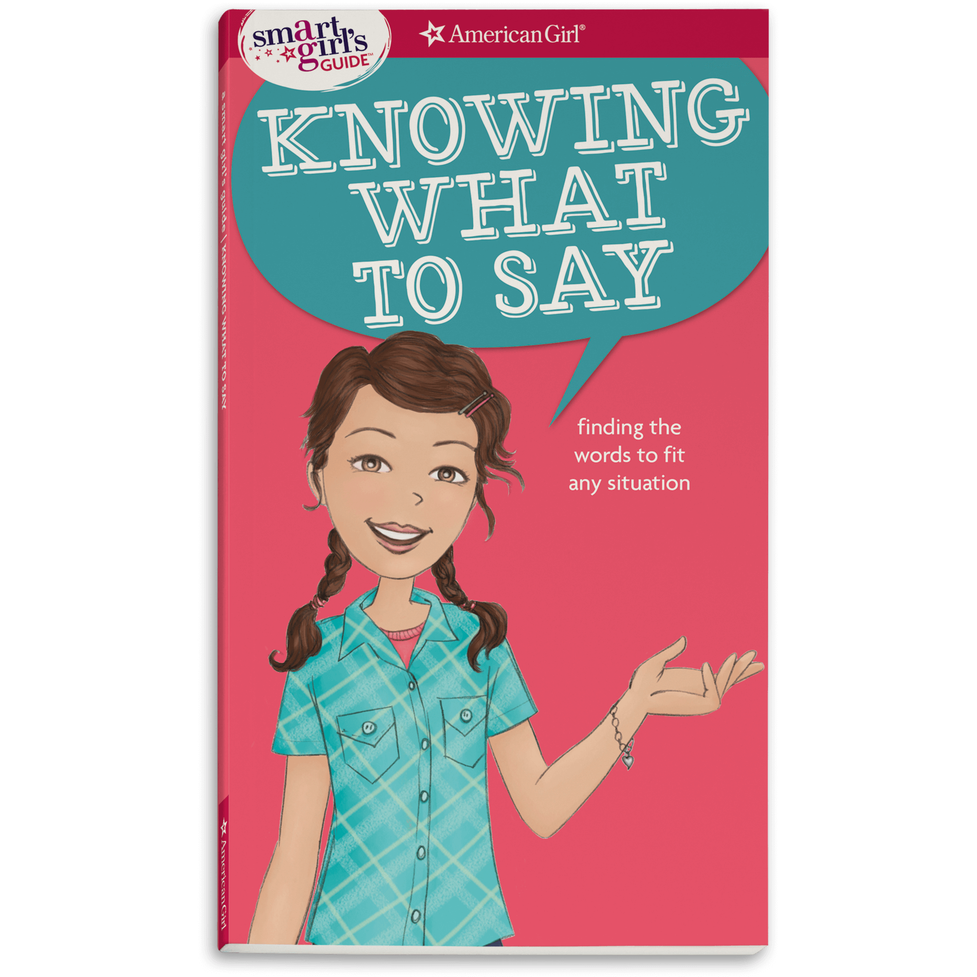 New! Smart Girl's Guide:  Knowing What to Say