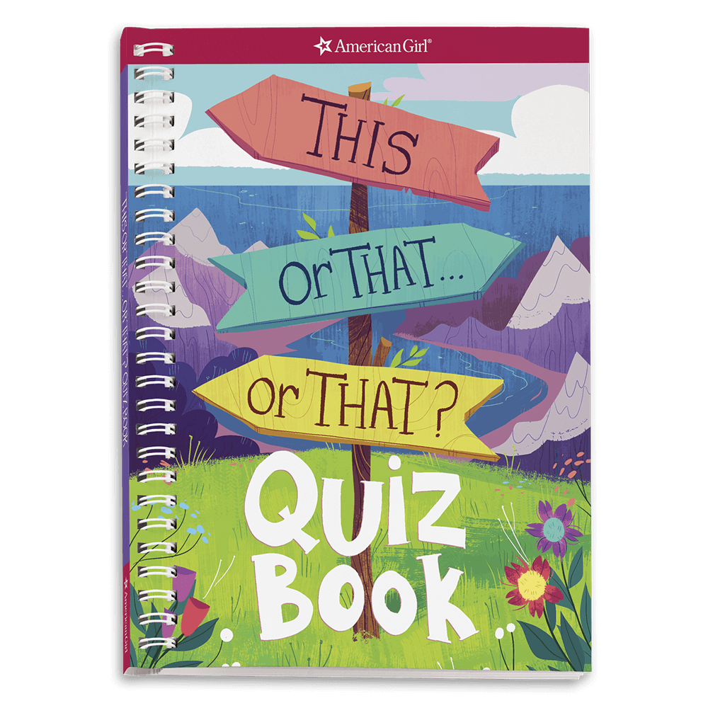 New! This or That? Quiz Book