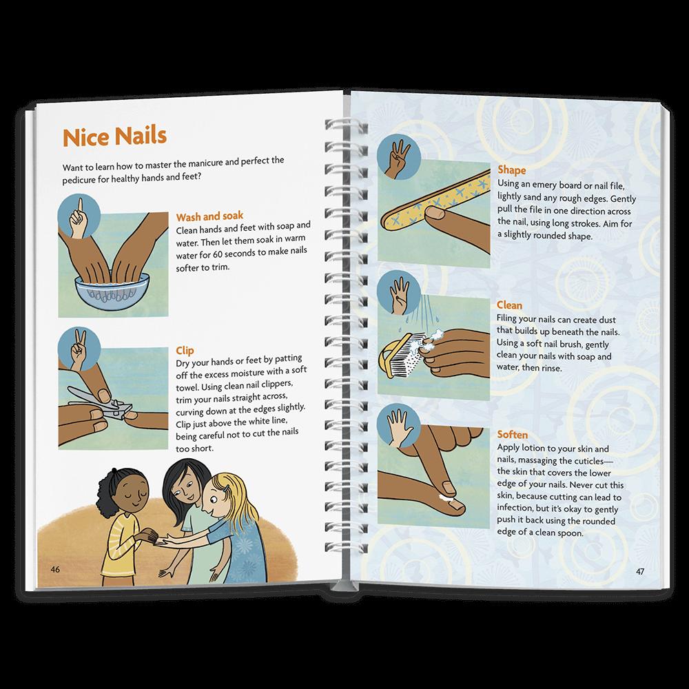 The Skin & Nails Book   American Girl Publishing