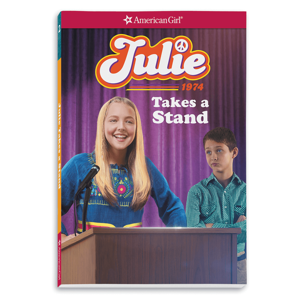 New! Julie Takes a Stand