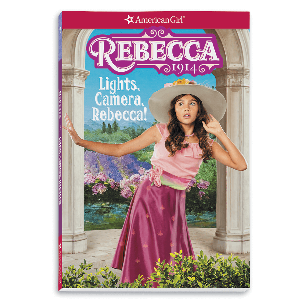 New! Lights, Camera, Rebecca!